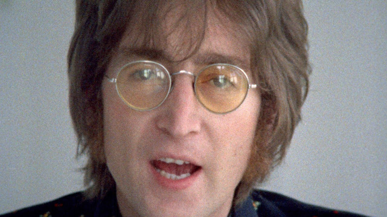 Imagine - John Lennon & The Plastic Ono Band (w the Flux Fiddlers) (official music video HD)